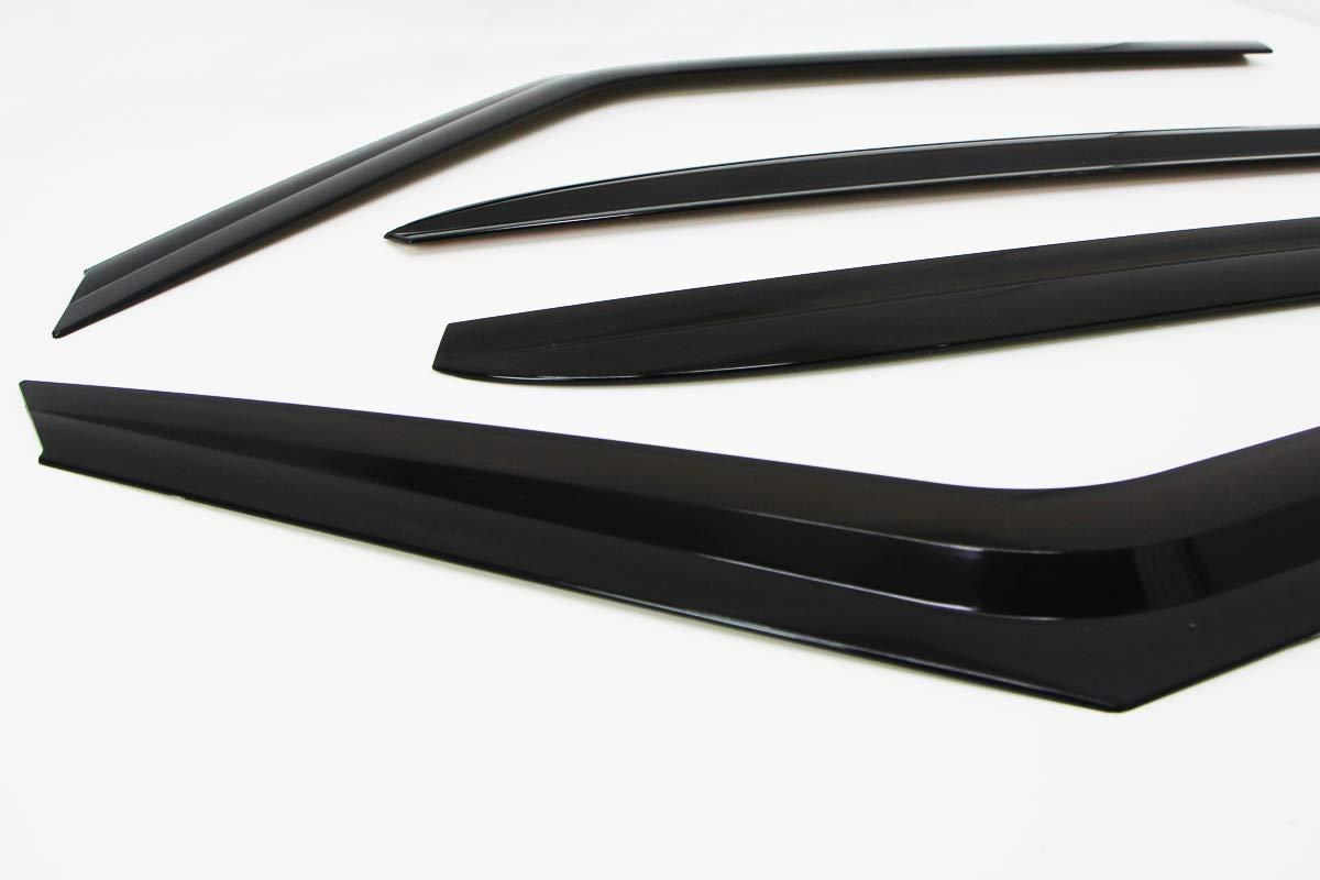 4 Piezas Juego de deflectores de Viento para Kia Soul 2014 Autoclover