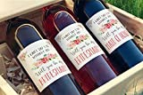 I Can't Say I Do Without You | Set of 7 Wine Bottle Labels | Bridesmaid and Maid of Honor Gift | Asking Bridesmaids | Bridesmaid Proposal | Bridal Party Favors, Ideas, and Gifts