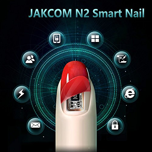 JAKCOM N2 Smart Nail New Multi-Function Electronics Intelligent Accessories No Charge Required NFC Smart Wearable Devices Gadget (N2F) by JAKCOM