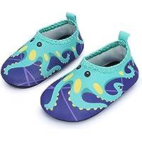 JIASUQI Baby Boys Girls Barefoot Swim Water Skin Shoes Aqua Socks Beach Swim Pool