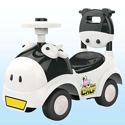 POCO DIVO Baby Calf 3-in-1 Walker Low-seat Ride On Toy Sliding Car Pushing Cart with Sound - ()