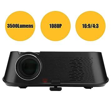 Proyector portátil,3500LM 1080P HD Video Proyector,Proyector De ...