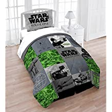 Star Wars Rouge One Twin/Full Quilt and Sham Set