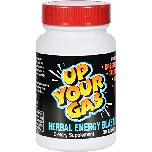 Herbal Energy Blaster - Hot Stuff Up Your Gas Herbal Energy Blaster - 30 Tablets