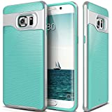 Galaxy S6 Edge Plus Case, Caseology® [Wavelength Series] Textured Pattern Grip Cover [Turquoise Mint] [Shock Proof] for Samsung Galaxy S6 Edge Plus (2015) - Turquoise Mint