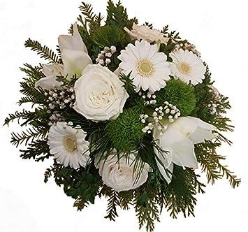Blumenstrauss Winter Zum Geburtstag Versenden Frische Tanne