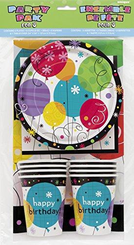 Breezy Birthday Party Tableware Kit