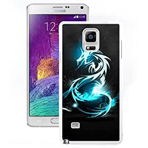 Unique and DIY Note4 Case Design with The Lord Of The Rings Samsung Galaxy Note 4 N910S N910C in White