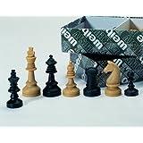 Weiblespiele 01010 - Schachfiguren, Kunststoff, 55 mm
