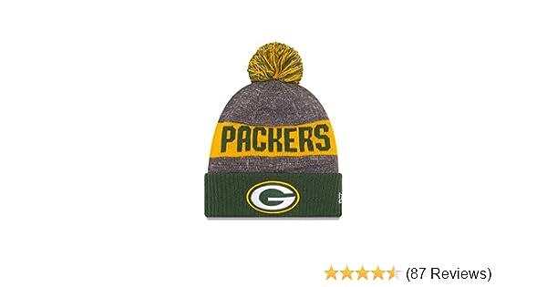 7150ec054 New Era Green Bay Packers 2016 NFL Sideline On Field Sport Knit Hat - Green  Cuff