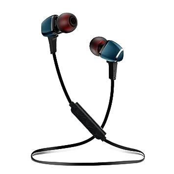 TAIR Auriculares inalámbricos con Bluetooth, Auriculares magnéticos 4.1, Auriculares de Metal con diseño de Moda, Auriculares IPX6 a Prueba de Sudor, ...