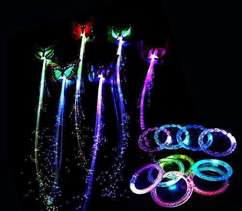Fiber Optic Led Hair Lights in Florida - 9
