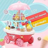 Gooyo Sweet Super Mini Market Ice Cream Cart Role/Pretend Play Toy for Kids/Boys/Girls (35 Piece)