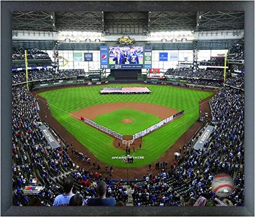 Miller Park Milwaukee Brewers 2019 MLB Photo (Size: 12