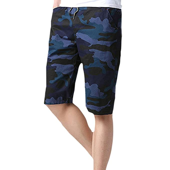 b7112dab69c Balakie Man Quick Dry Camouflage Shorts Swim Trunks Beach Water Pants Male  Boardshorts New (Blue