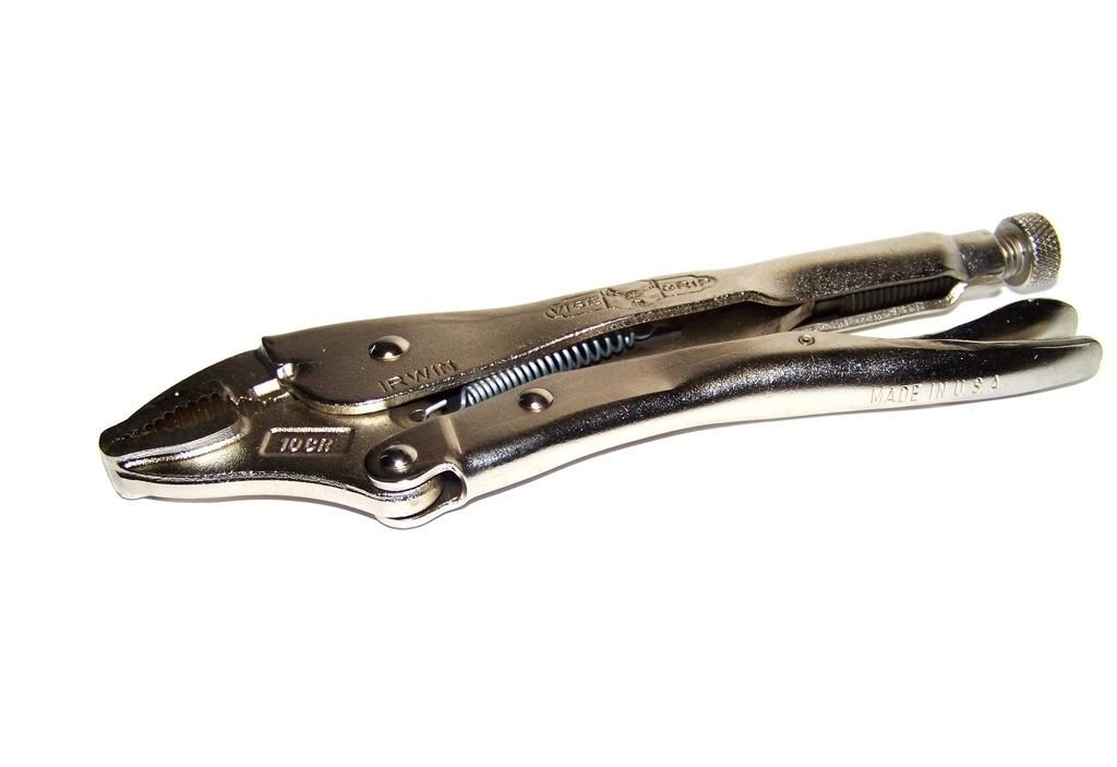 "The Original""? Curved Jaw 10 Locking Pliers 10cr Vise-grip Made In Usa''"