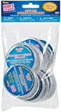 """One Package of 12 pieces Design-A-Button 2-1/2""""-Clear Plastic"""