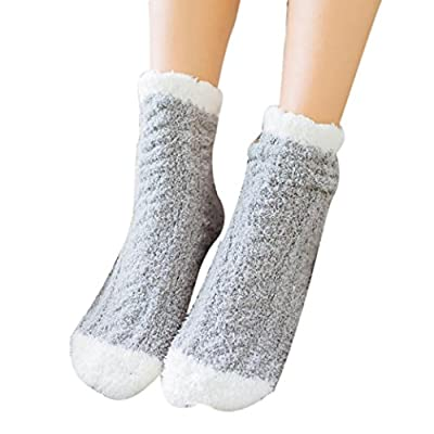 Gillberry Women Socks, Women Cute Coral Fleece Socks Warm Socks Autumn Winter Casual Floor Socks