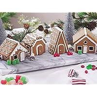 Fox Run Village Gingerbread House Set, Brown