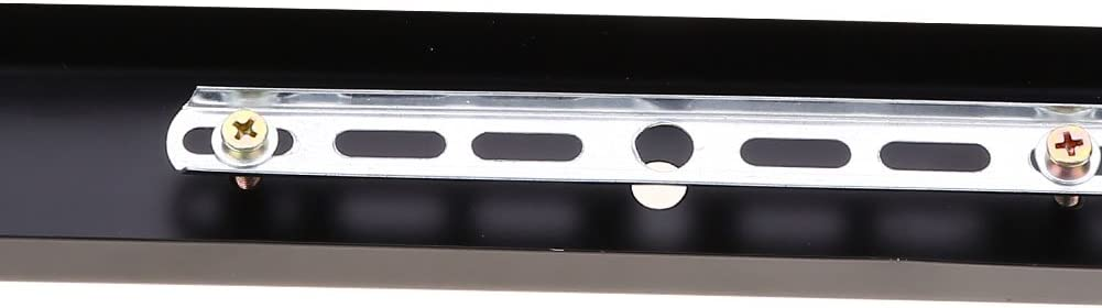 Base per plafoniera Fitting Base Rettangolare per Lampada a Sospensione Fai da Te Accessori Black