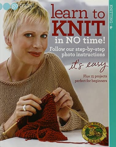 Learn to Knit in No Time (Soho Publishing)