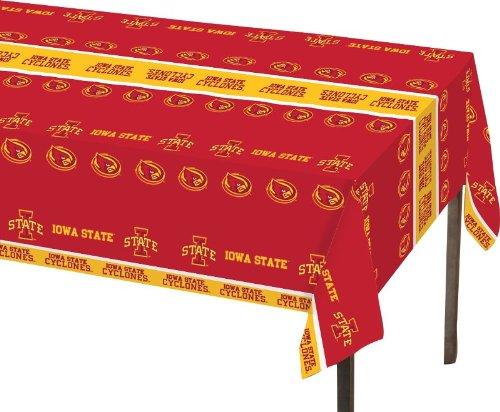 Iowa State Desk (Creative Converting Iowa State Cyclones Plastic Banquet Table Cover)