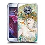 Official Stephanie Law Entertaining The Daydream Sea Creatures Soft Gel Case Compatible for Motorola Moto X4