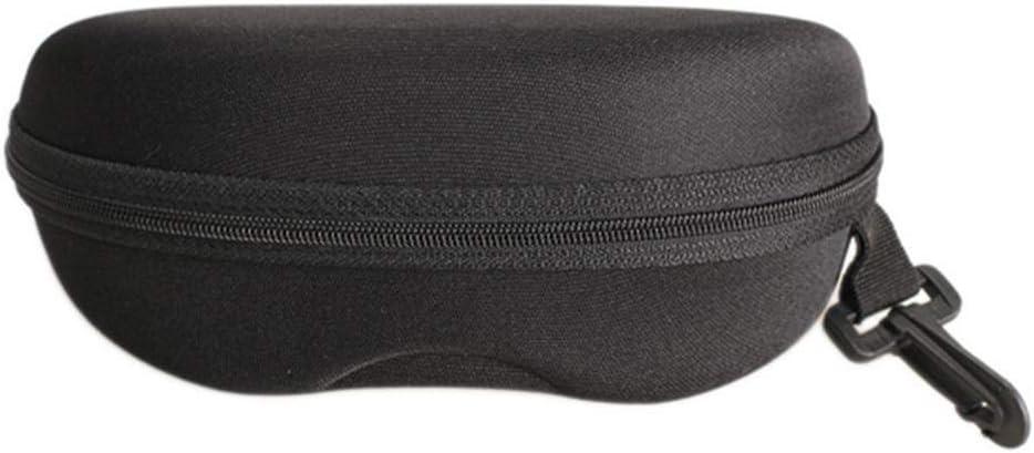 Akaddy Gafas de sol portátiles Estuche Gafas de lectura Bolsa de transporte Cremallera Caja Protector: Amazon.es: Hogar