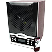 OdorStop OSAP7-7 in 1 Air Purifier with True HEPA Filter, UV, Active Carbon, Ionizer, TiO2, 3 Ozone Plates and Remote Control