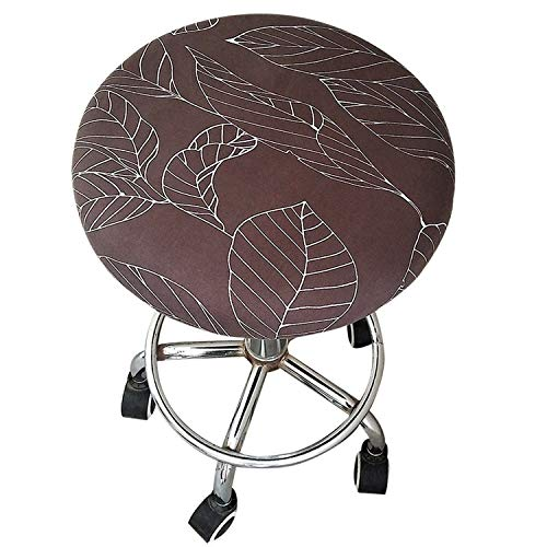 Round Chair Cover Bar Stool Cover Elastic Seat Cover Home Chair Slipcover Round Chair Bar Stool Floral Printed,B11,30-45cm