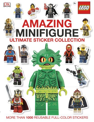 Ultimate Sticker Collection: Amazing LEGO Minifigure (Ultimate Sticker (Halloween Math Activities Second Grade)