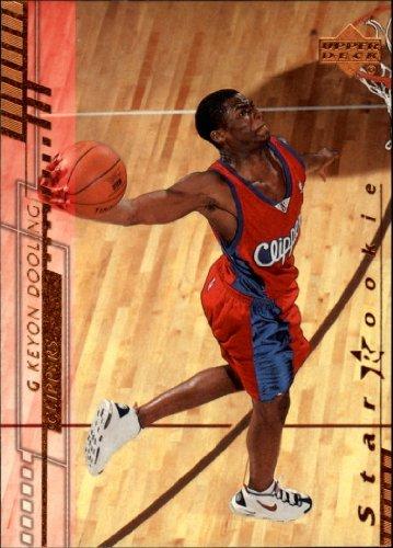2000 Upper Deck Basketball Rookie Card (2000-01) #212 Keyon Dooling Mint