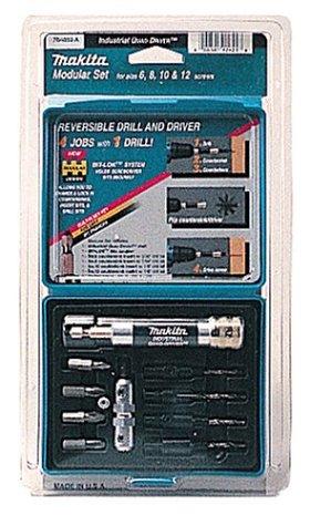 Makita 784859-A Quad-Driver 11 Piece Pre-Drill, Drive and Countersink Set (Makita 6 Piece Set)