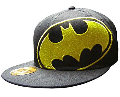 Batman Basic Logo Cap Hats New Licensed DC Comics Black Large / X-large