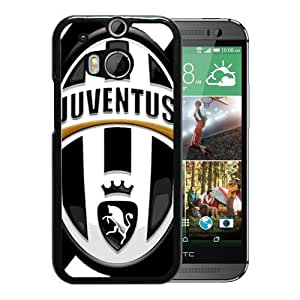 New Fashion Custom Designed Skin Case For HTC ONE M8 With Juventus Black Phone Case 6