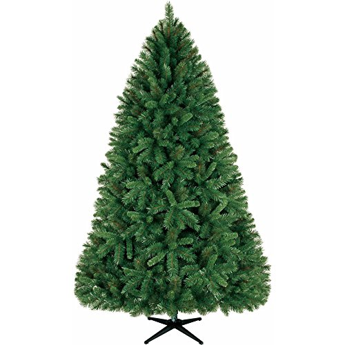 Fir Unlit Artificial Christmas Tree (Holiday Time Unlit 7.5' Donner Fir Artificial Christmas Tree)