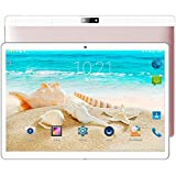Auntwhale 10.1 HD Display,2 in 1 Touchscreen Tablet PC,Intel Quad-Core Processor,4GB+64GB,Dual Webcam Wi-fi Bluetooth Android 7.0 Rose Gold