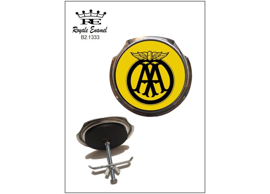 Royale coche Bar insignia AA autom/óvil asociaci/ón amarillo insignia b2.1333
