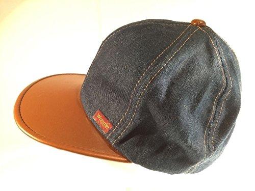 Rare Vintage Hat - Wrangler Vintage Young An Denim Snapback Hat Cap RARE