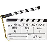 iPhone8 iPhone7/6s/6 【BLACK BY MOUSSY/ブラックバイマウジー】 「カチンコ」 (ホワイト)