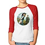 Women's Outlander Season One Volume Two Graham McTavish Sam Heughan Raglan Baseball T-Shirt