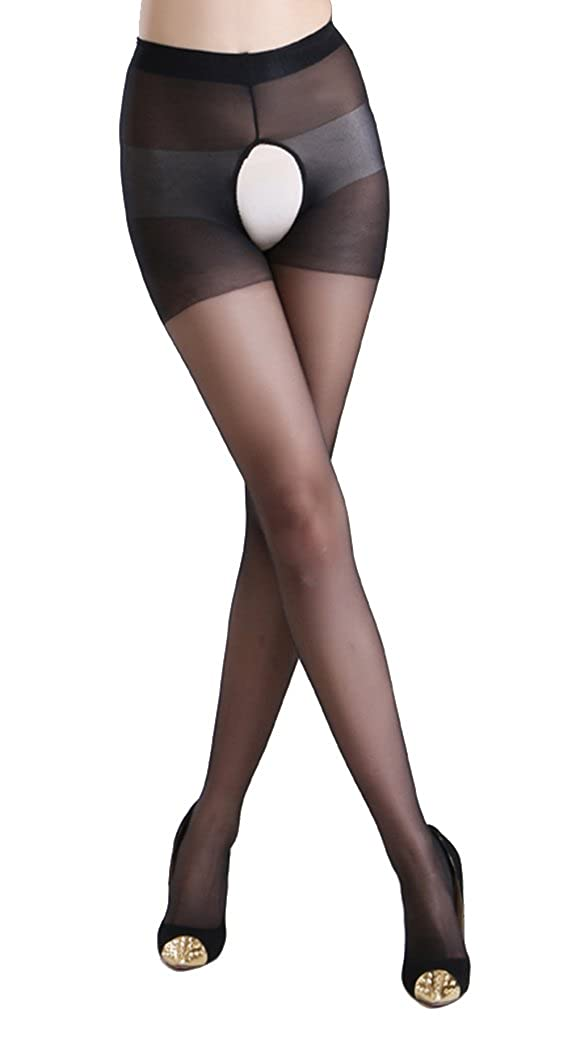 a227fb0e2 Ypser Sheer Panty Hose Control Top Thigh High Stockings for Women at Amazon  Women s Clothing store