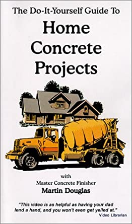 Amazon the do it yourself guide to home concrete projects vhs the do it yourself guide to home concrete projects vhs solutioingenieria Gallery