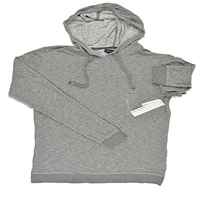 Men's Calvin Klein Dark Gray Cotton Pullover Hoodie Sweatshirt XXL