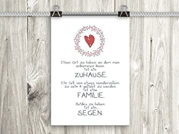 Amazonde Artissimo Poster Mit Spruch Din A4 Pe0036 Dr Zuhause