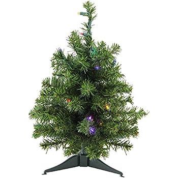 18 Pre Lit Natural Two Tone Pine Artificial