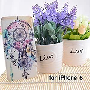 Mini - Cartoon Dream Catcher Pattern Leather Full Body Cases with Stand and Slot for iPhone 6