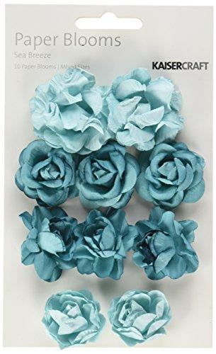 Paper Breeze - Kaisercraft Sea Breeze Paper Blooms