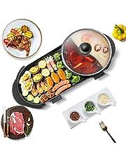 TTLIFE Aziatische pan Aziatische tafel grill chafing schotel elektrische bbq elektrische griller