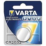 for Volvo (99-12) Remote Key Battery OEM Varta